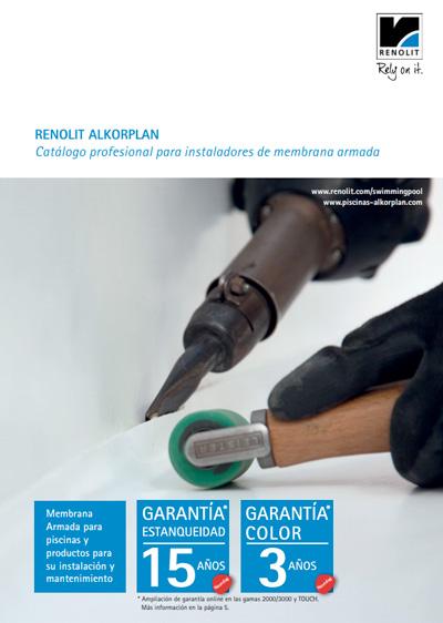 Catálogo profesional para instaladores de membrana armada